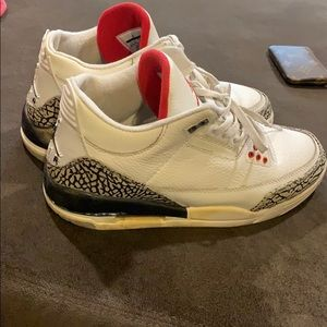 Jordan White Cement 3's